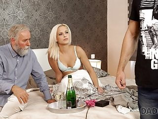 DADDY4K. Old and young sex experiment is a birthday..