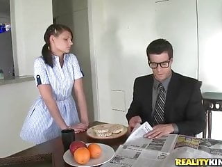 Kylie moore plays house Maid